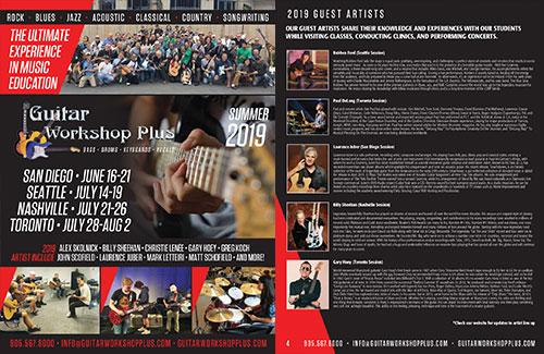 2019 Guitar Workshop Plus Brochure